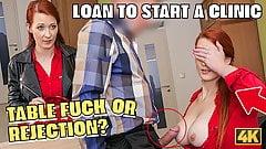 Loan4k. Antrag auf Kredit wurde abgelehnt, also rothaarig