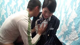 Cabin Attendant Give out Sexual Relief! Part1