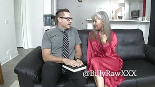 Mormon Missionary Gets Fucked By Milf Leilani Lei