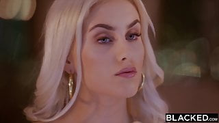 BLACKED Bratty blonde diva Indica has eyes for her manager