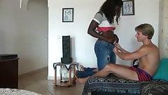 Ich habe ein schwarzes Mädchen gefickt