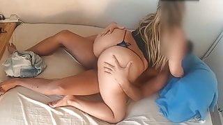 Nice Big Ass On Sexy Thong