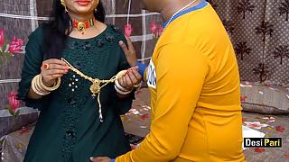 Desi Pari Bhabhi Fucked By Devar On Birthday With Hindi Talk