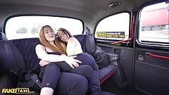 Fake Taxi, freche spanische Lesben Anastasia und Ginebra