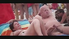 Nude Beach - Lewd Couples Public Exhiibitions
