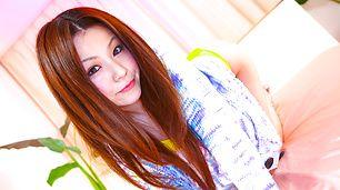 Great ass bikini gal Rika Koizumi gets rammed from behind