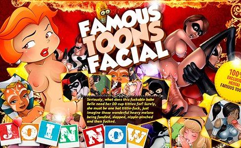 FamousToonsFacial
