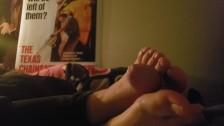 Stepsister foot jobs