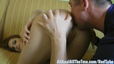 Petite Teen Hope Howell Gets Ass Spread and Licked for AAT!
