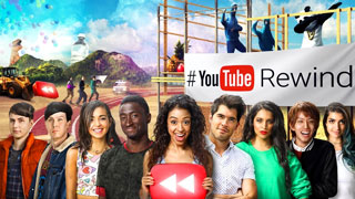 A YouTube thumbnail image for Rewind 2016